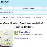 Norwegians step up online butter search