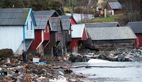 Norway counts cost of Christmas hurricane