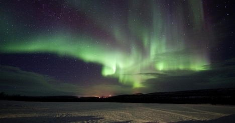 Experience the marvel: the northern lights