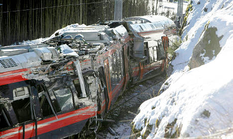 Train driver charged over Norway crash