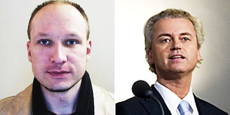 Norway killer and Dutch MP in fictional meeting