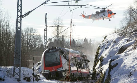 Test train smashed speed limit: report