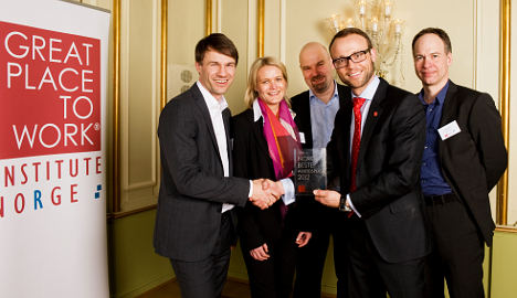 Buy and sell site named Norway's best employer