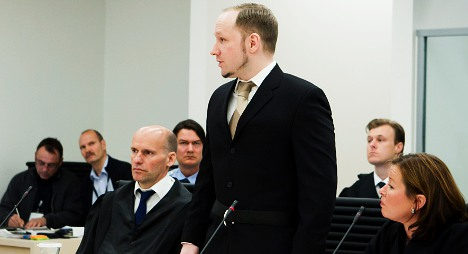 Breivik pleads 'not guilty' at Oslo court