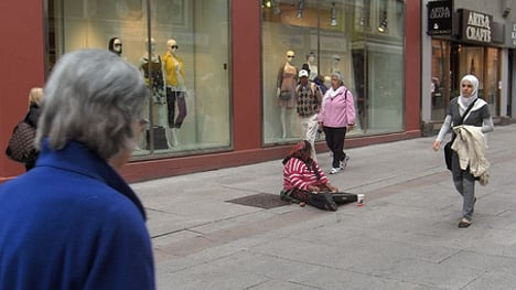 Norway to expel foreign beggars