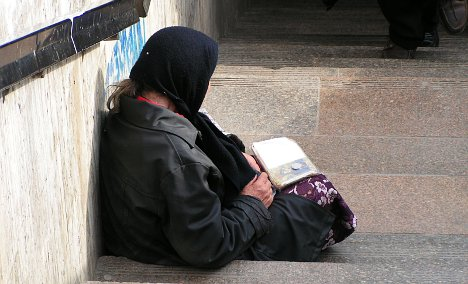 Norway town to build toilets for beggars