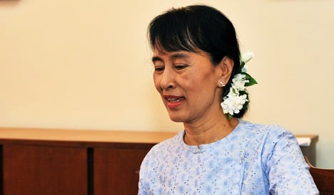 Suu Kyi to visit Norway in first foreign trip