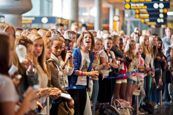 Fan frenzy as Justin Bieber comes to Oslo