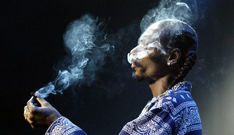 Snoop Dogg caught with drugs in Norway