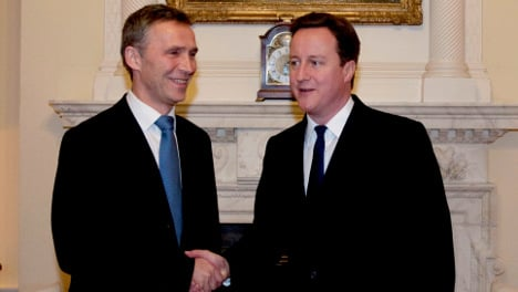 Cameron to Norway for meeting with Stoltenberg