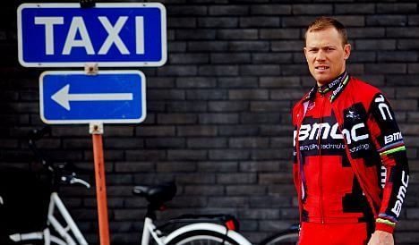 Cycling champ Hushovd out of Olympics