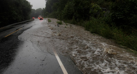 Southern Norway hit by flooding and rail chaos