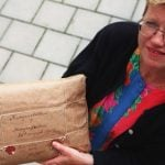 Town holds breath over 100-year-old package