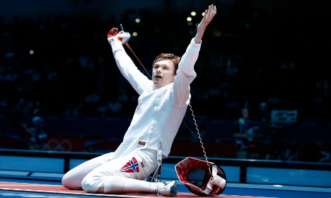 Norway claims first ever Olympic fencing medal