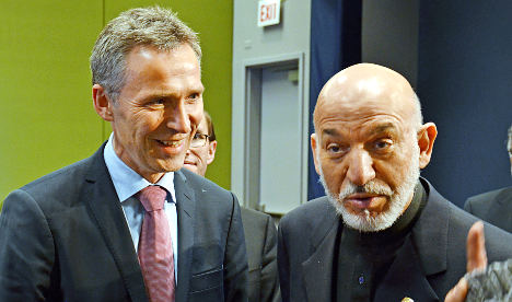 Karzai calls off Norway visit over riot fears