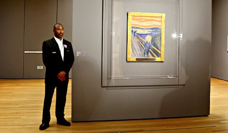 Munch's iconic 'Scream' on display in New York