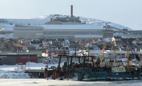 Melting ice pushes Norway closer to Asia