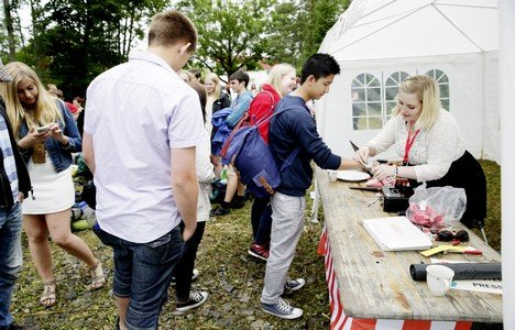 Norwegian Labour Party youth wing (AUF) summer camp