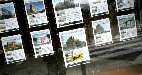 Norwegian houses outpace property hike