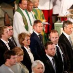 Inside the memorial service at Oslo Cathedral.Photo: Heiko Junge / NTB Scanpix