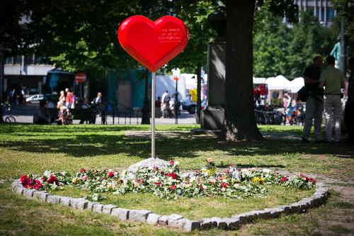 Norway marks two-year terror anniversary: memorial at Oslo Cathedral