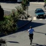 Chechen man flees court on motorcycle