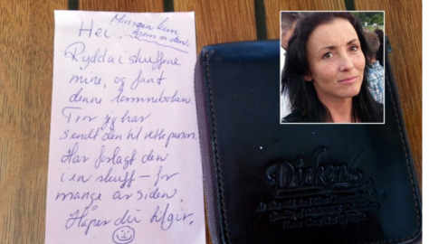 Lost wallet returned after ten years