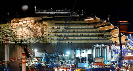 Norway firm supplied Costa Concordia salvage