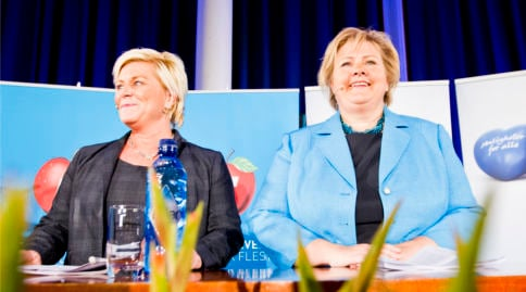 New Norway gov agrees 'historic' coalition deal
