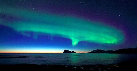 Northern lights best in a decade this December