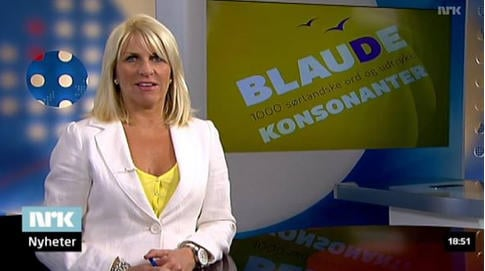 Newsreader banned from wearing cross on air