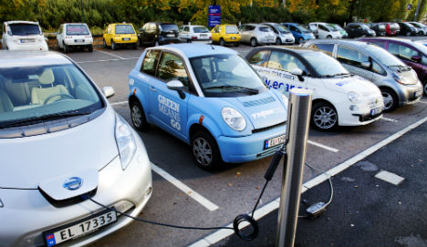 Norway warms to electric cars