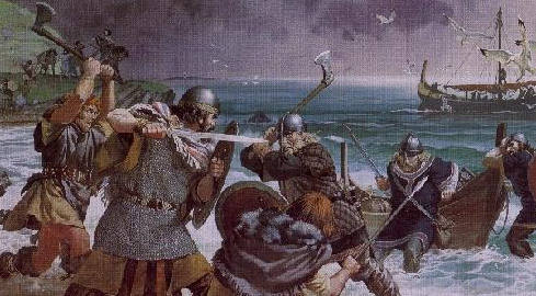 Vikings slaves beheaded and buried by masters