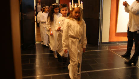 Kindergarten cancels Lucia citing child rights