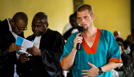 French too sick to stand trial in Congo