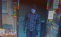 Man robs petrol station with axe