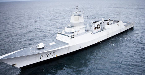 Norway's navy sends ship back to Syria