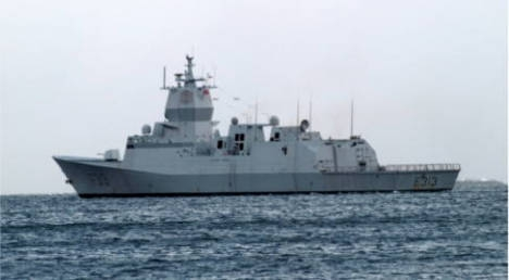 Norway ship escorts first Syria chemicals cargo