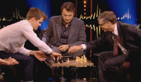 Norway chess star beats Bill Gates in 1 minute