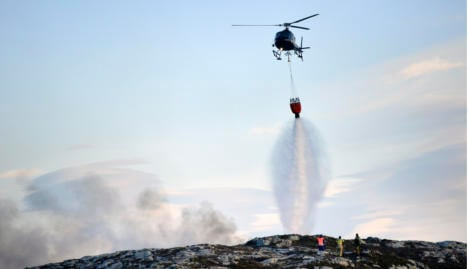 Norway fire caused by child lighting aerosol
