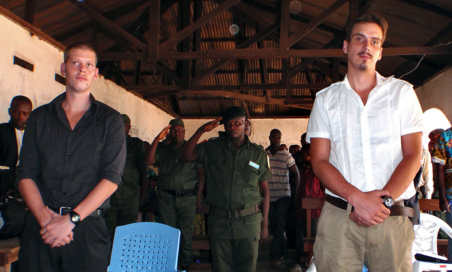 French trial opens amid confusion in Congo