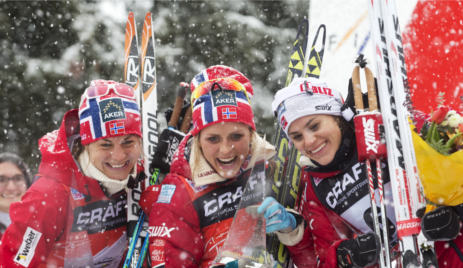 Norway sweeps board at Italy's Tour de Ski