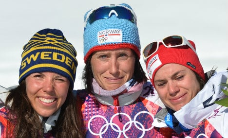 Norway's Bjørgen makes history with fourth gold