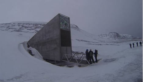 Brazil beans and Japan barley come to Svalbard