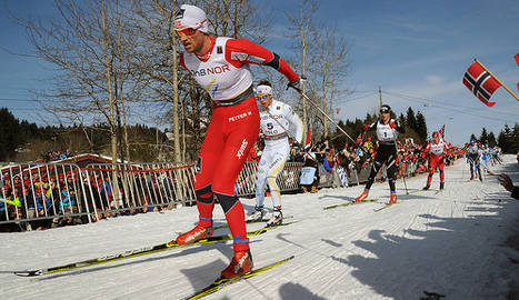 Fallen star Northug drops out of 15km race
