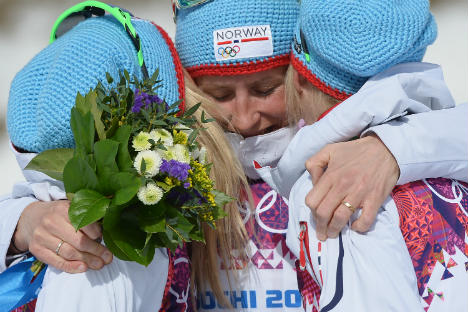 Norway's Bjørgen takes record sixth gold medal