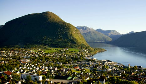 Fjord town reeks of faeces after septic spill