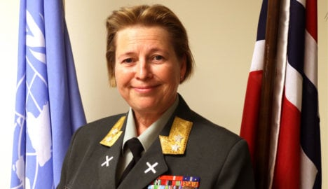 Norwegian first woman to head UN peace mission