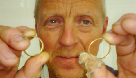 Farmer finds engagement ring after 35 years