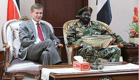 Norway gives emergency aid to South Sudan